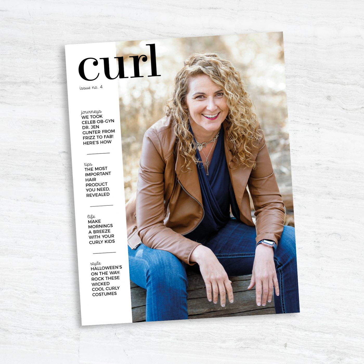 Curl Magazine Issue 4 with Dr. Jen Gunter