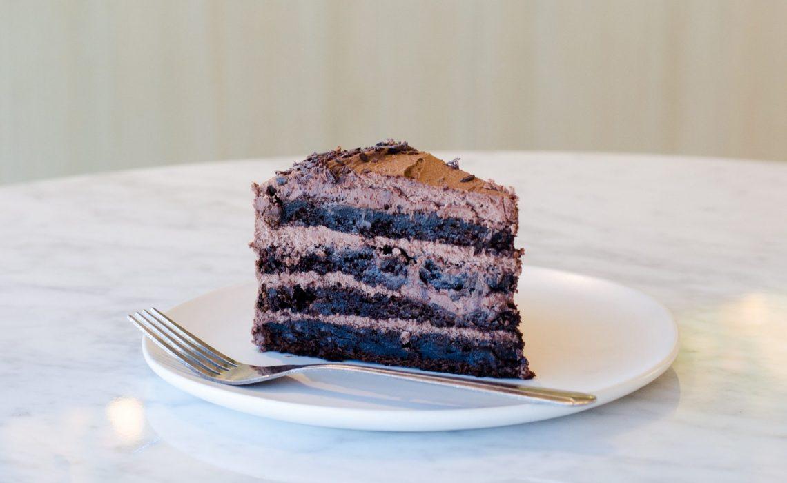 photo of layered cake