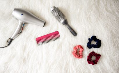 photo of hair tools