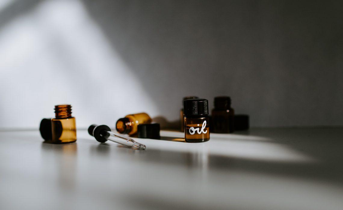 photo of bottles of oil