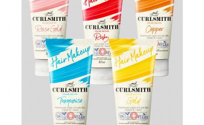 photo of curlsmith hair makeup