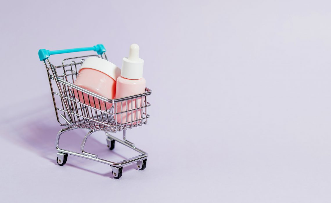 who of shopping cart with ingredients