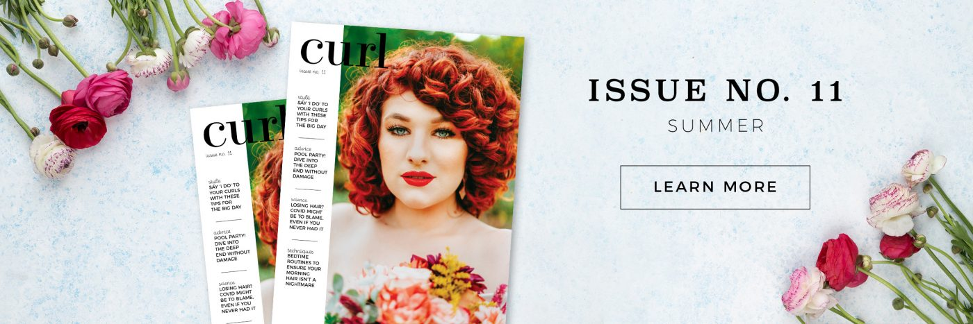 curl magazine wedding issue