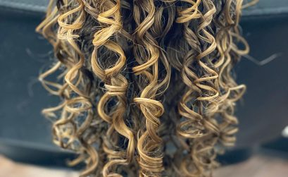photo of curl clumping